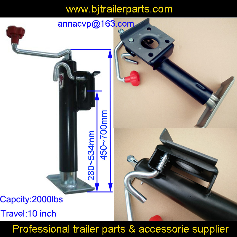quality jockey wheel, trailer jockey wheel, trailer jack, jack stand,top wind 2000lbs