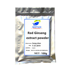 Korean panax natural red Ginseng root extract powder tea festival glitter extra strength ginsenosides Improves performance focu