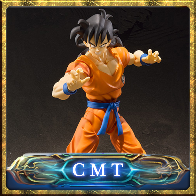 CMT INSTOCK BANDAI TAMASHII NATIONS Original S.H.Figuarts Dragon Ball Z DBZ SHF Yamcha PVC Action Figure Collection Toys Figuar cmt original bandai tamashii nations s h figuarts shf dragon ball db kid son gokou action figure anime figure pvc toys figure