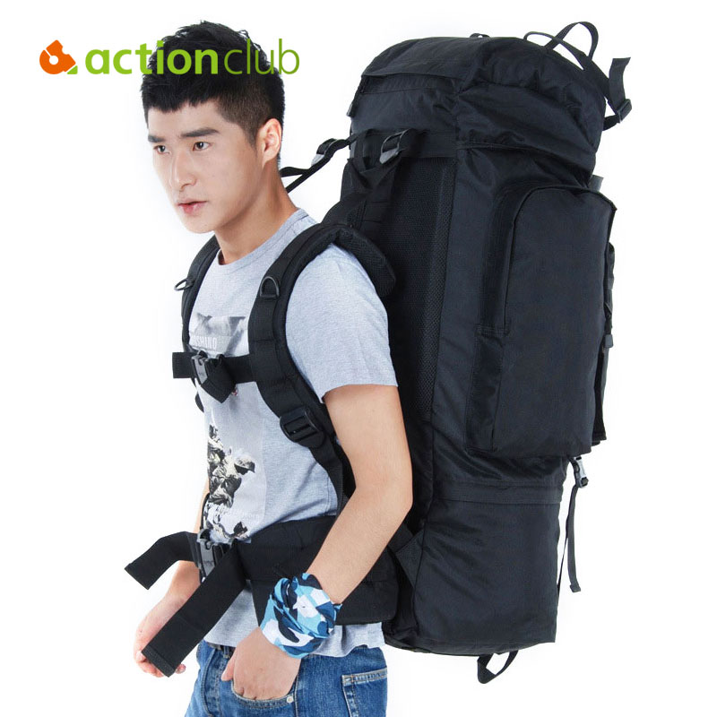 Actionclub 100L Military Tactical Backpack Waterproof Bag Big Soldier Waterproof Oxford Bags Smartphone Pouch 43X25X95CM Pack