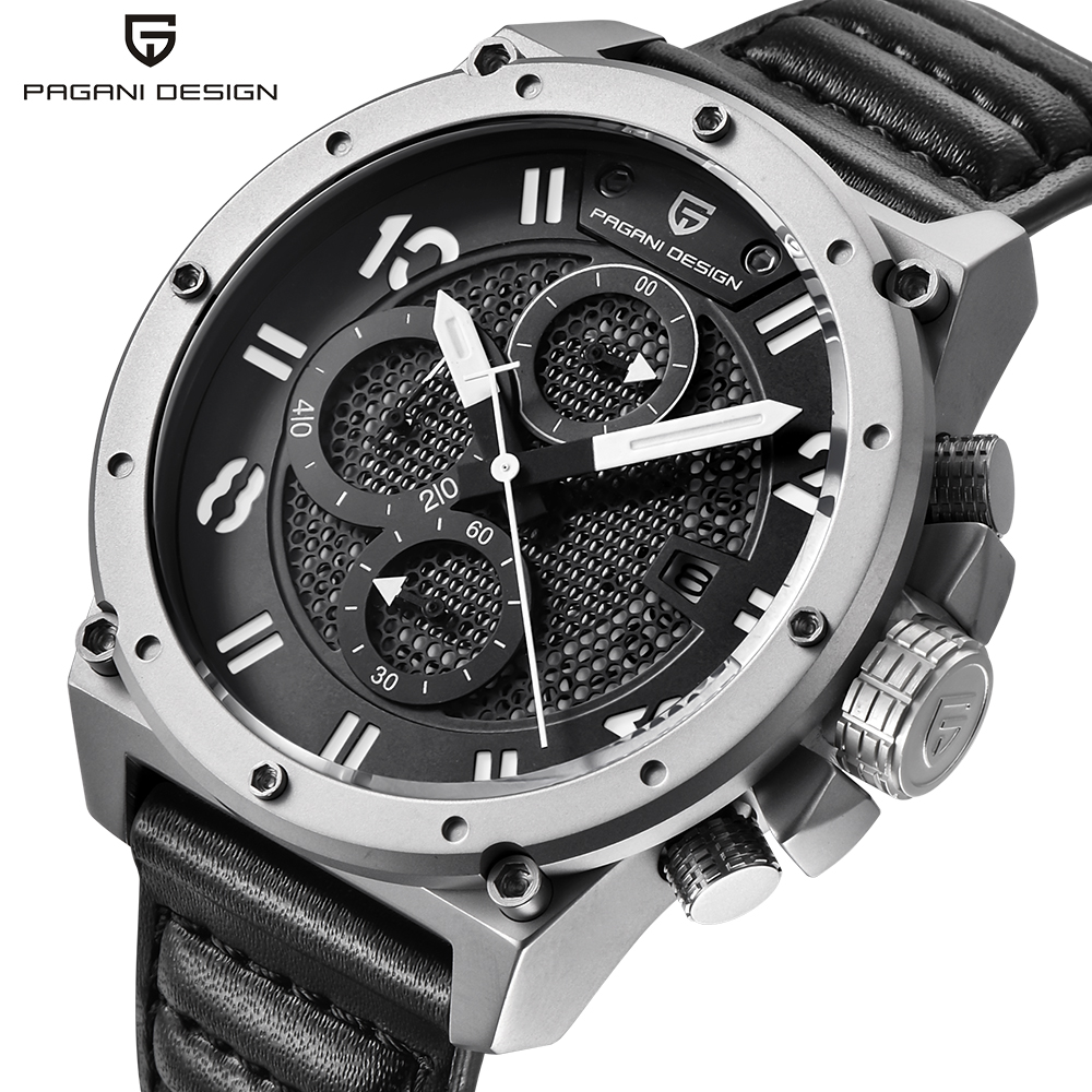 все цены на Pagani Design Mens Watches Luxury Brand Fashion Waterproof Sports Army Military Wrist Watch Men Quartz-Watch relogio masculino