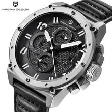 Pagani Design Mens Watches Luxury Brand Fashion Waterproof Sports Army Military Wrist Watch Men Quartz-Watch relogio masculino