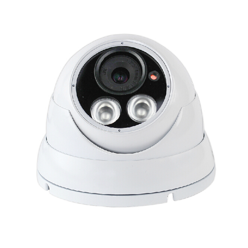ФОТО AHD 1pcs mental cctv camera  720P  CMOS Indoor  CCTV Security Dome Camera for project construction freeshipping