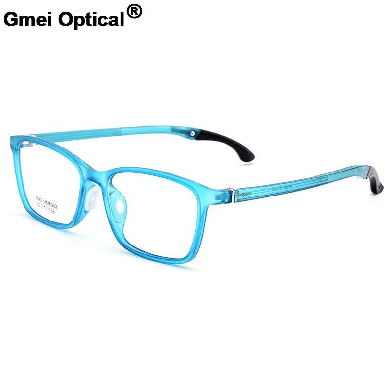 Gmei Optical Urltra-Light TR90 Student Full Rim Optical Eyeglasses Frame With Hangers Plastic Myopia Presbyopia Spectacles M8003