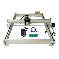 dc 12v חיתוך לייזר מיני Eastshape 40x50cm DC שולחניים DIY 300-5500mw 12V / חריטה חרט מכונת CNC קאטר 500MW מדפסת (1)