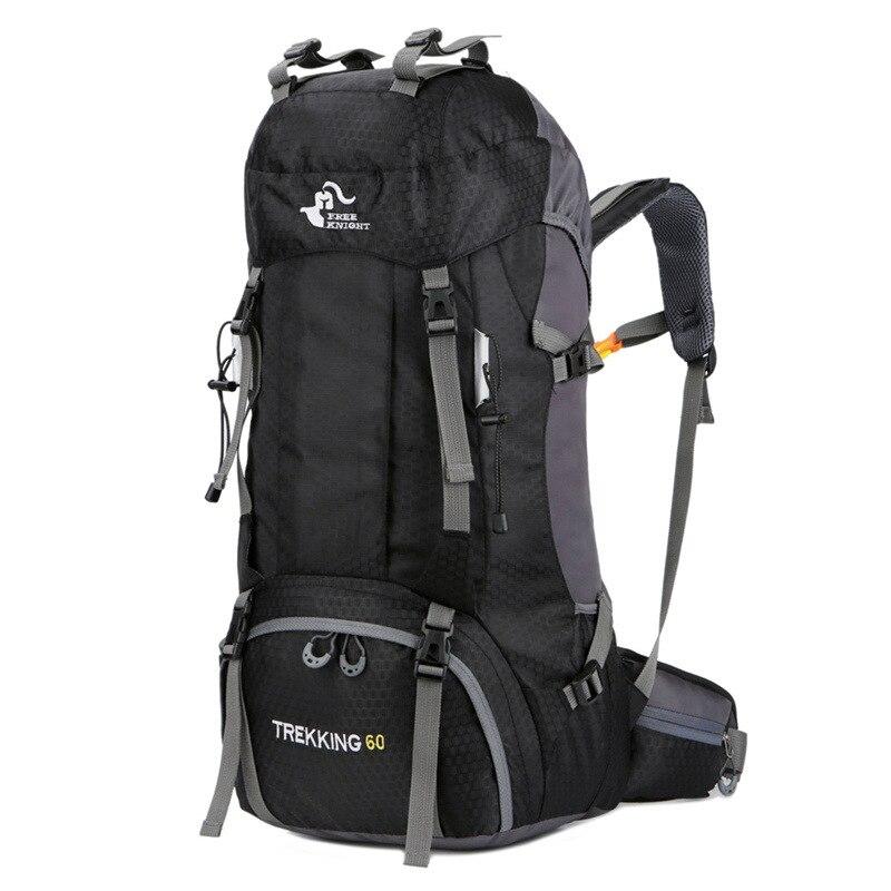 2018 New 60L Large Capacity Nylon Hiking Backpack Camping Hiking ... 599a1dab0c552