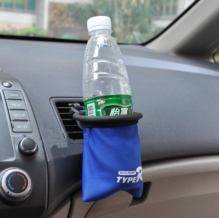 Car Air Vent Mount Organizer Bags Mobile Cell Phone Drink Bottles Glasses Holder Multi functional Pocket Buy 2 get 1 free in Shelves from Automobiles Motorcycles