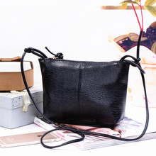 New&Hot ! 2017 pu leather women messenger bags fashion casual shoulder bag cross-body bag small vintage women's handbag