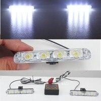 2x4/led DC 12 V luce Stroboscopica Attenzione luce Polizia Car Light Truck Flashing Lights Vigili Del Fuoco Ambulanza Whosesale