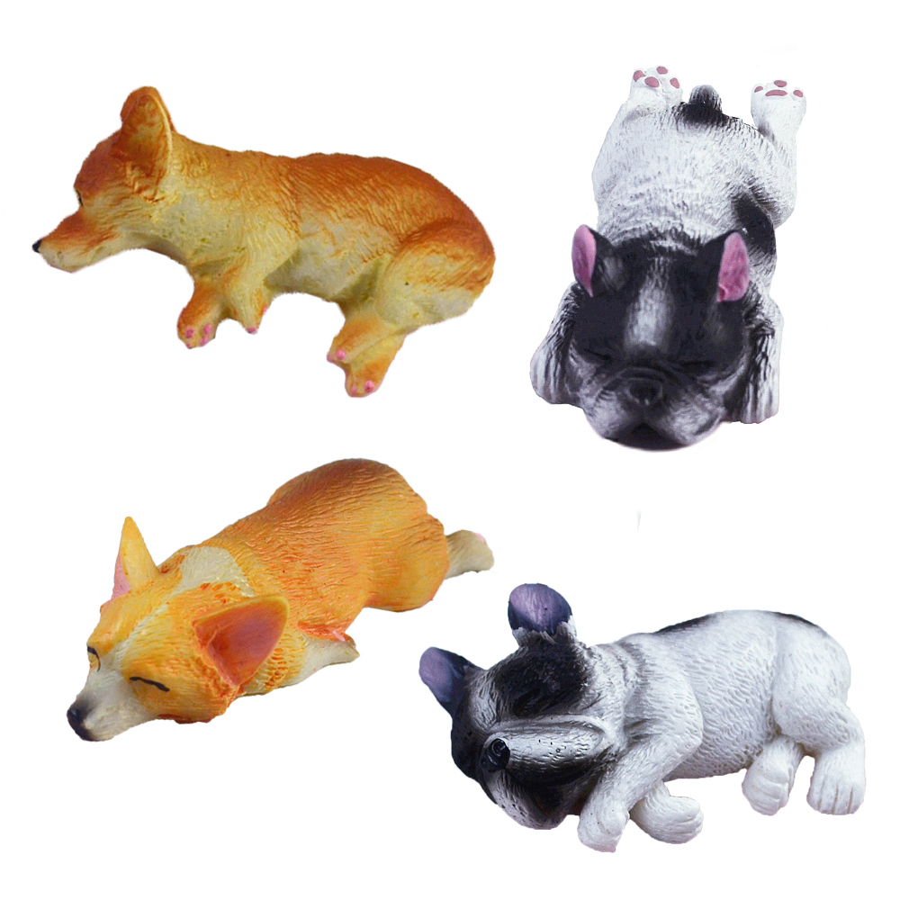 Mini Dog Supplement Charms For Slime DIY Polymer Filler Addition Slime Accessories Toy Lizun Modeling Clay Kit For Children