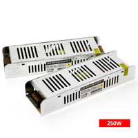 Светодио дный драйвер Питание AC220 к DC12V/DC24V 60 Вт 120 Вт 200 Вт 250 Вт 360 Вт светодио дный адаптер Освещение Трансформеры