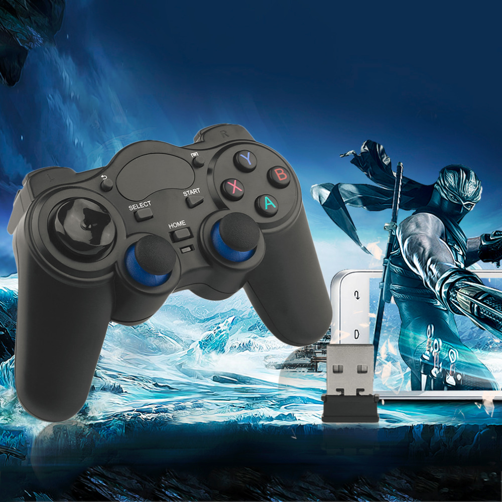 Professional 2.4 GHz Sem Fio Do Jogo Pad Controlador Joypad Handle Gamepad Joystick Para Windows 8/7/XP Para Android