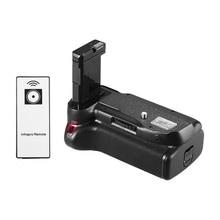 Pionowy uchwyt na baterię z pilotem zdalnego sterowania na podczerwień dla Nikon D5500 D5600 lustrzanka cyfrowa EN EL 14 zasilany z baterii