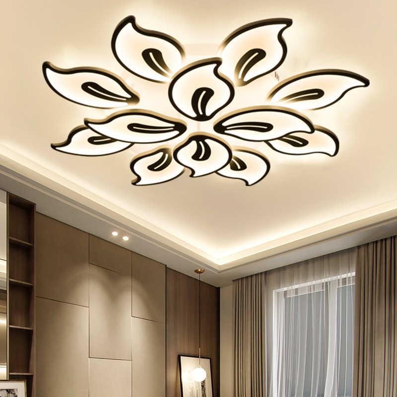 Светодиодный светильник для гостиной, спальни, столовой, кабинета, акриловый светодиодный крепления для светильника-Люстры, затемняющий домашний декор, бесплатная доставка