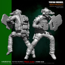 Yufan Model 1/24 Soldier Kit 75mm Resin Unmounted Yfww-1838