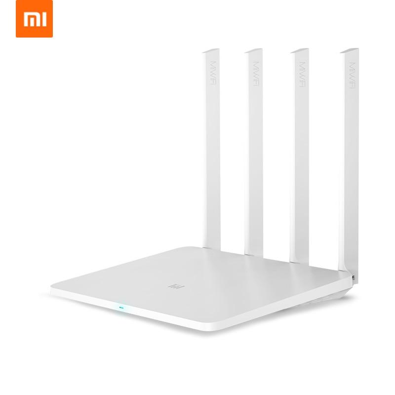 Xiaomi Mi Routeur 3g 1167 Mbps 2.4g 5g Double Bande Sans Fil Wifi Routeur Gigabit avec 4 Antennes