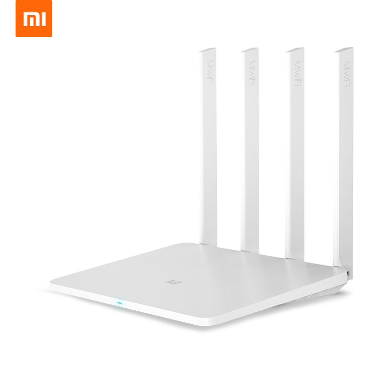 Xiao mi mi router 3G 1167 mbps 2.4G 5g wifi dual Band Wireless Gigabit Router Con 4 antenne