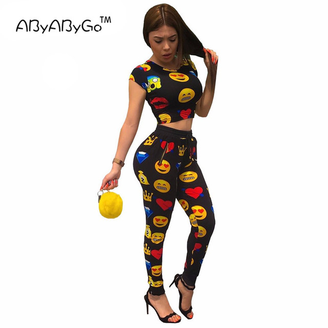 Pieces Printed Short Sleeved Jumpsuit Women black