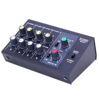 1 4 Channels R X219 8 Channel Universal Mixer Console Karaoke Digital Mixing Console With USB