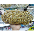 New Lady Crystal Handbag Luxury Evening Party Bag Clutch purse New Style Jewel Case Mini Bag Luxury Evening Bag SC314