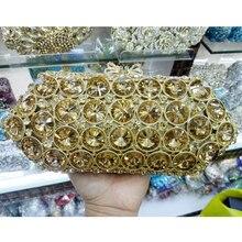 Neue Dame Kristall Handtasche Luxus Abendgesellschaft Tasche Kupplung geldbörse Neue Stil Jewel Fall Mini Tasche Luxus Abendtasche SC314