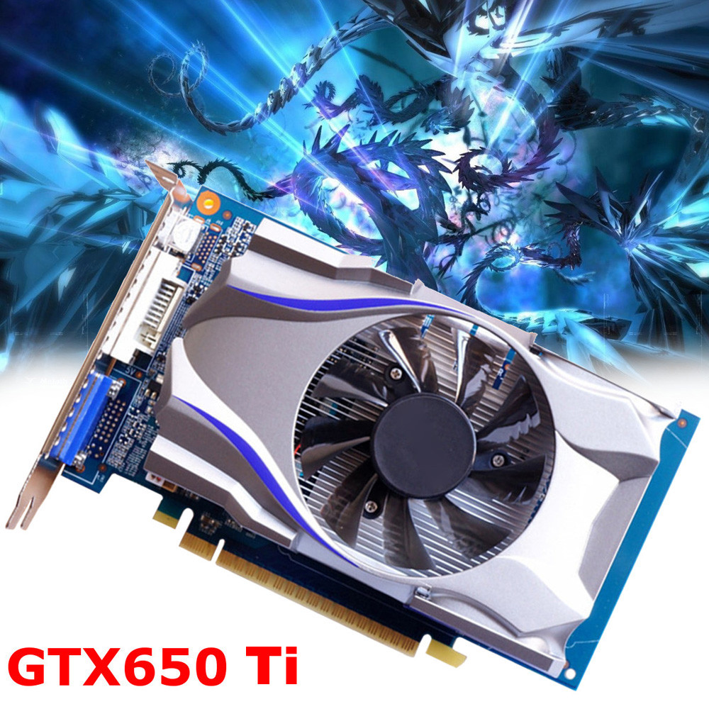 2018 New GTX650Ti 1GB GDDR5 128Bit HDMI Graphics Card 5000MHz For NVIDIA GeForce Video game card A.17 vg 86m06 006 gpu for acer aspire 6530g notebook pc graphics card ati hd3650 video card