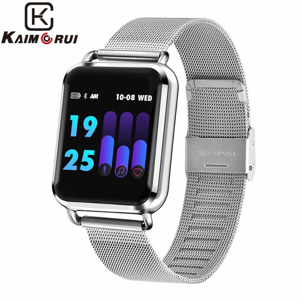 Q9 Smart Watch Women Heart Rate Monitor Fitness Bracelet Tracker Watch Pedometer Running Mode Wristband for