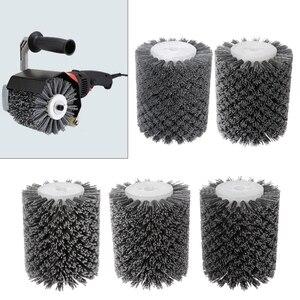 Image 1 - 13 มิลลิเมตรขัด Abrasive ลวดรอบหัวแปรงขัดเครื่องมือขัดล้อสำหรับเฟอร์นิเจอร์ไม้ประติมากรรมสว่านโรตารี่