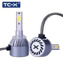 TC-X 7200LM COB LED Car Lights 880/H27 Fog LampLED Headlight Bulbs Conversion Kit 6000 LM 6000K High Power Car Lights Fog Light