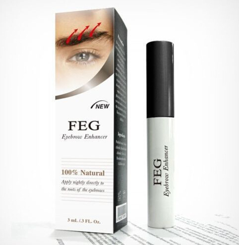 Eyebrow Enhancer Waterproof For Eyebrow Growth Makeup Brand FEG Make up Eye Brow Pencil Treatments Longer Thicker Cosmetics Set Health & Beauty