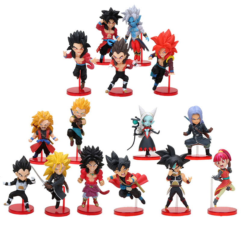 "Super DragonBall Z Heroes DBZ sdbh PVC figure 3/"" new w box"