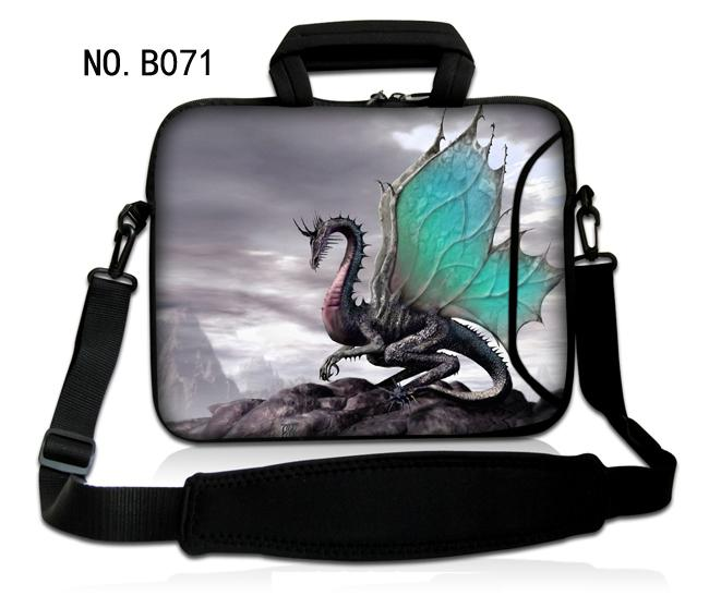 Fly Dragon 14 15 15.6 inch Shoulder Computer Laptop Bags Men Women Cover Case Briefcase Messenger Bag For Macbook Case Bag