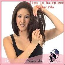 Clip en la peluca de peinado Fringe superior calvo/reemplazo de cabello de encaje cierre cabelo pelo Liso cabelo recta de Color 1 #2 #4 #