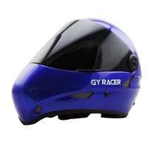 2016 with CE approved professional extremely sports head protector downhill BLUE longboard and skydiving helmet