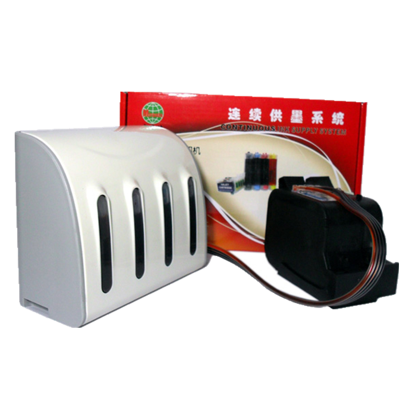 CISS remplacement pour HP 45 78 Noir et Couleur Cartouche D'encre Costume pour Fax1220 1230 CFP 750 950 Imprimante