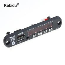 Kebidu DC 5V 12V אלחוטי Bluetooth USB FM TF רדיו MP3 מפענח לוח מודול אודיו MP3 נגן עבור רכב מרחוק מוסיקה רמקול טלפון