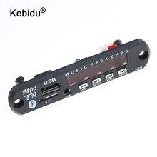 kebidu DC 5V 12V Wireless Bluetooth USB FM TF Radio MP3 Decoder Board Module Audio MP3 Player For Car Remote Music Speaker Phone