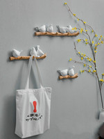 Nordic Doorway Clothes Room Hook Home Decoration Accessories Coat Rack Hanging Bird Creative Porch Key Holder Wall