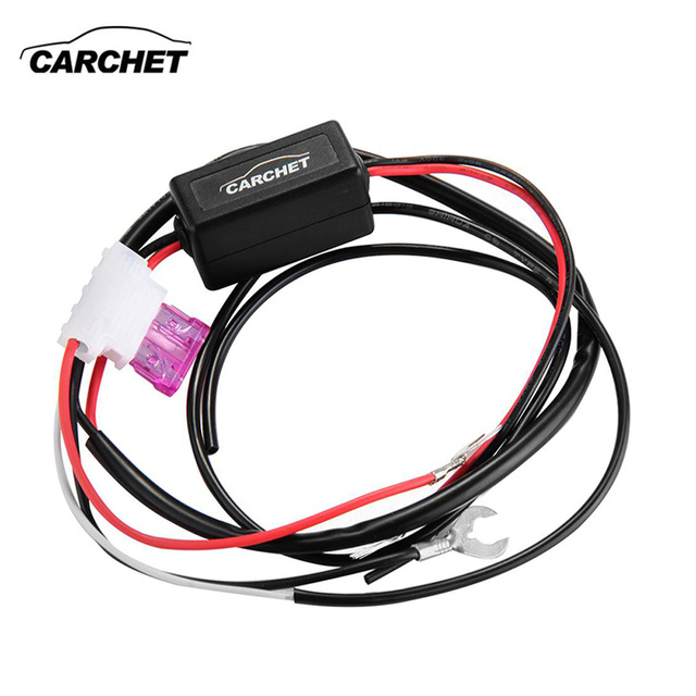 carchet universal car drl controller daytime running led light relay rh aliexpress com