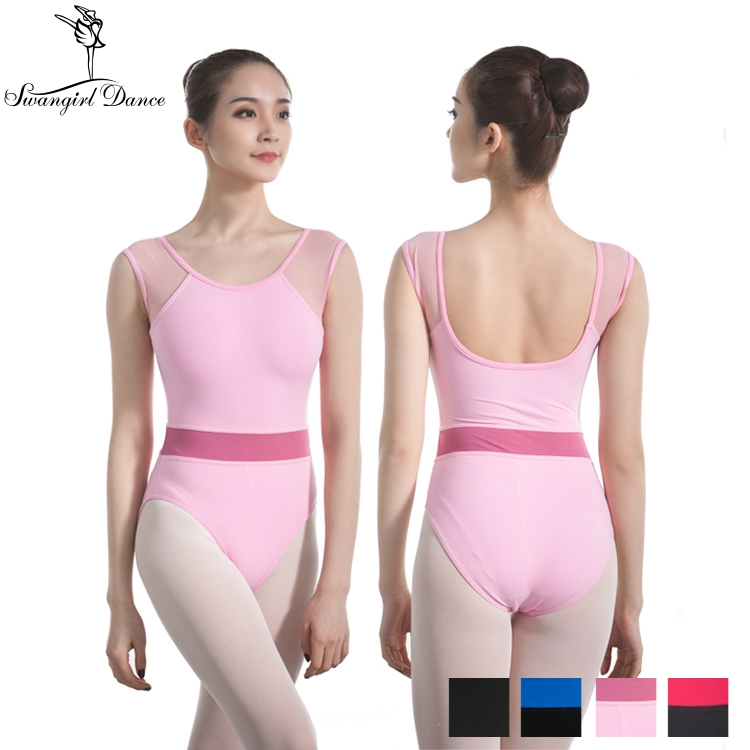 ce0eed0f5 2018 new sexy dance bodysuit ballet leotard for women mixed color ...