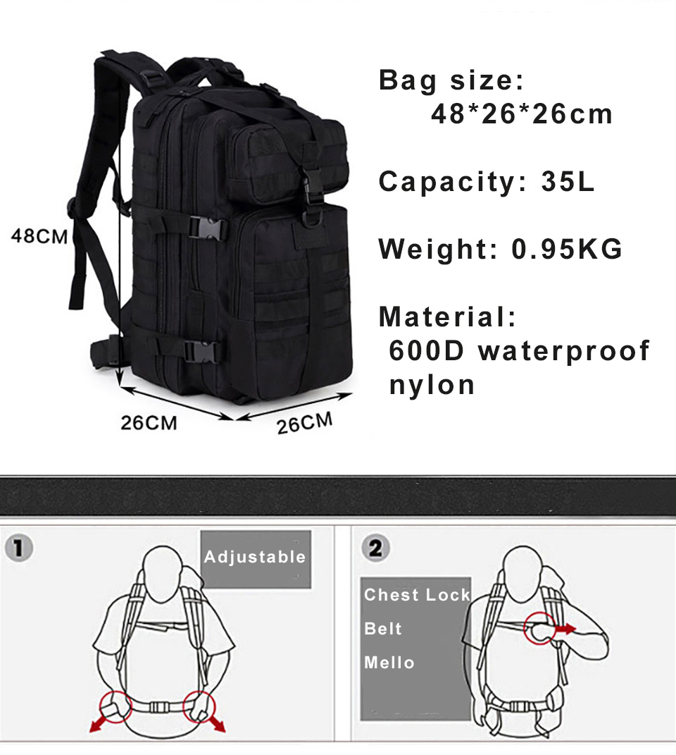 HTB1q1 dFxSYBuNjSspjq6x73VXag - 600D Waterproof Military Tactical Assault Molle Pack 35L Sling Backpack Army Rucksack Bag for Outdoor Hiking Camping Hunting
