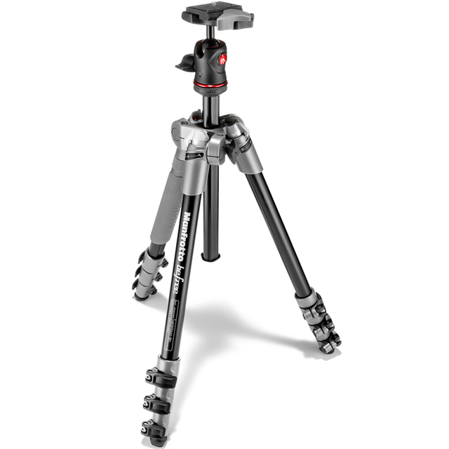 MANFROTTO Aluminum Monopod MKBFRA4-BH Professional Tripod For Digital Camera 4 kg Go Pro Accessories Camcorder Dslr Cnc Selfie