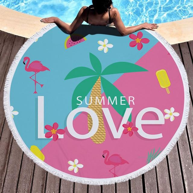 Summer Time Microfiber Beach Towel 6