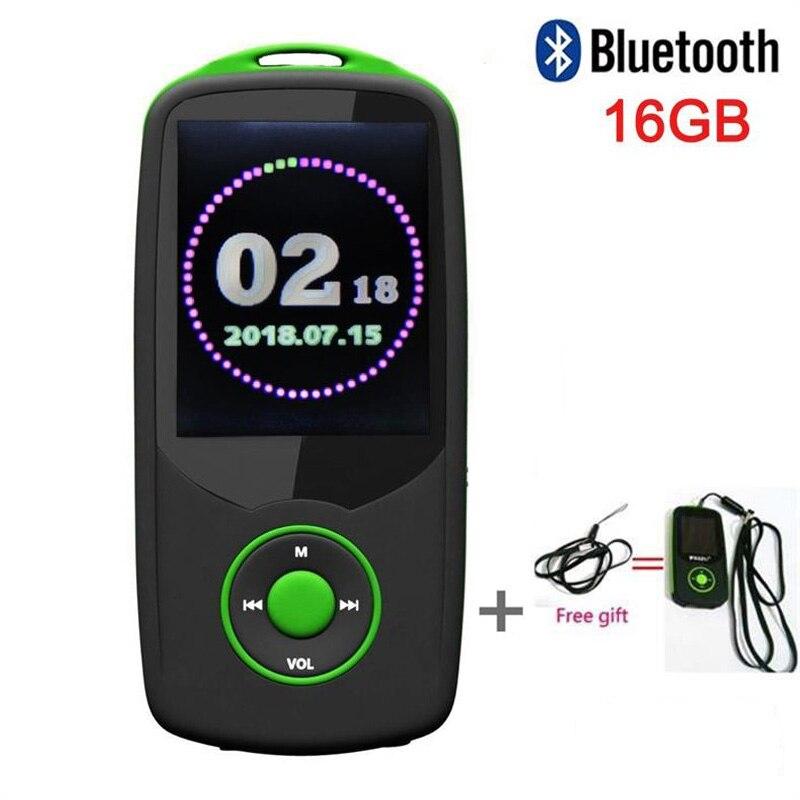 Unterhaltungselektronik Tragbares Audio & Video 16g 1,8 Zoll Bildschirm 100 Stunden Hohe Qualität Verlustfreie Recorder Walkman Grün Sonnig Original Ruizu X06 Bluetooth Sport Mp4 Musik-player