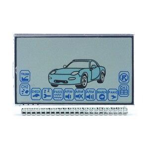 A6 ЖК-дисплей экран для русской версии Автомобильная сигнализация Twage Starline A6 ЖК-пульт дистанционного управления брелок цепь