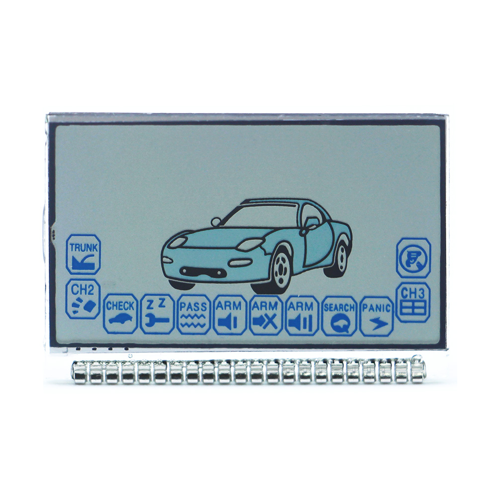 A6 LCD display Screen for Russian Version Car Alarm System Twage Starline A6 lcd remote controller