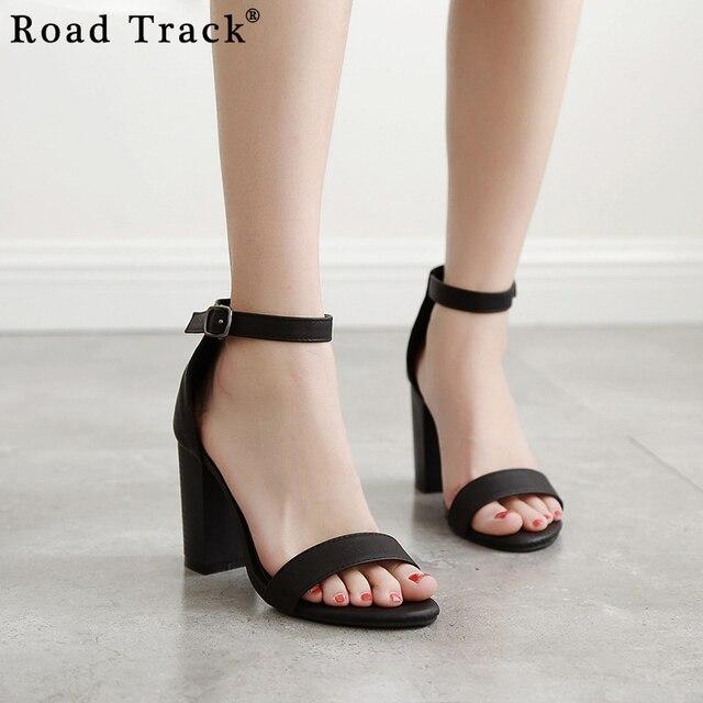Sandalias Tacón Road Mujer De Zapatos Mujeres Las Grueso Track Srdtxhqbc Rqc3jLA54S