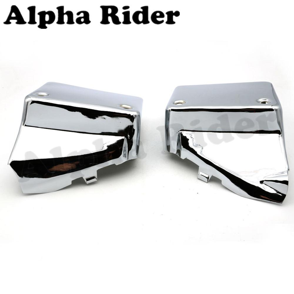 Battery Cover Side Frame Fairing Guard Protector for Honda Shadow Spirit VT750DC 00-09 2008 2007 2006 2005 2004 2003 2002 2001 motorcycle radiator cover water tank cooler grille guard fairing protector for honda vtx1800 2002 2008 2007 2006 2005 2004 2003