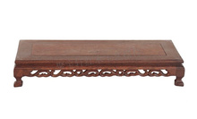 Mahogany Wood Carving Handicraft Furnishing Articles Base Wenge Flowerpot Shelf of Buddha Mammon Base tanie tanio Incense burner base Samowystarczany Chiny Retro nostalgia Old Furniture Drewniane Solid Wood Antique Prostokąt Meble do salonu