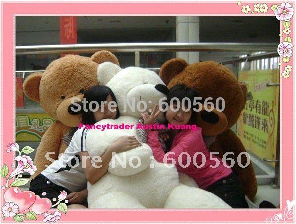 Fancytrader 230 см Гигант Плюшевый Мишка 3 Цветов для Выбора 90 ДЮЙМ(ОВ) FT90058